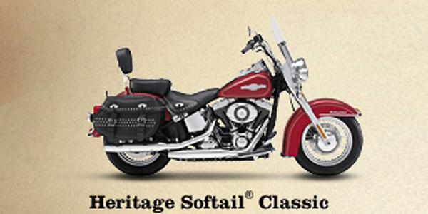 Harley-Davidson FLSTC Heritage Softail Classic Firefighter