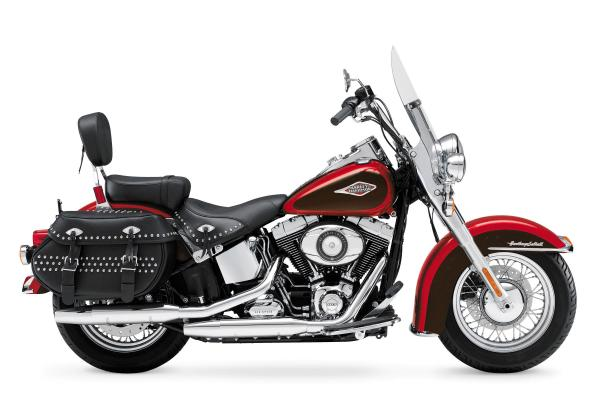 Harley-Davidson FLSTC Heritage Softail Classic Peace Officer