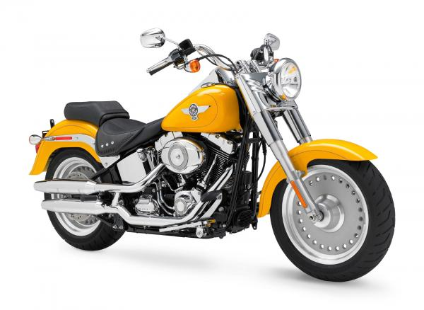 Harley-Davidson FLSTF Fat Boy Firefighter