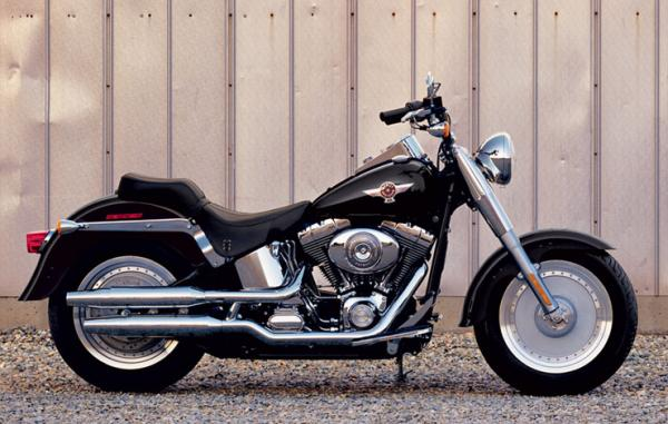 Harley-Davidson FLSTFI Softail Fat Boy