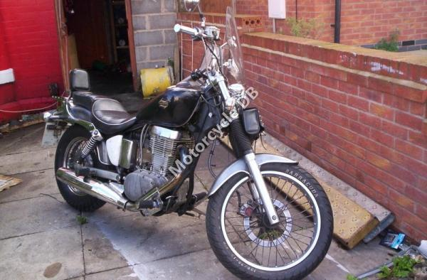 1988 Harley-Davidson FLTC 1340 (with sidecar) (reduced effect)