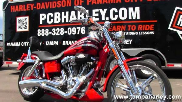 2008 Harley-Davidson FXDSE CVO Screaming Eagle Dyna