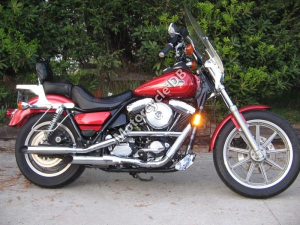 1988 Harley-Davidson FXLR 1340 Low Rider Custom (reduced effect)