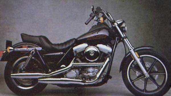 1989 Harley-Davidson FXLR 1340 Low Rider Custom (reduced effect)