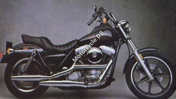 1989 Harley-Davidson FXR 1340 Super Glide (reduced effect)