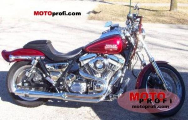 Harley-Davidson FXRS 1340 Low Rider (reduced effect)