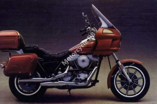 1988 Harley-Davidson FXRT 1340 Sport Glide (reduced effect)