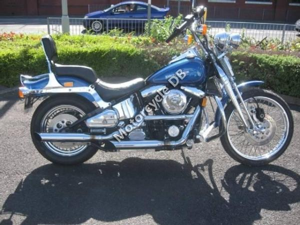 Harley-Davidson FXST 1340 Softail (reduced effect) 1988 #1