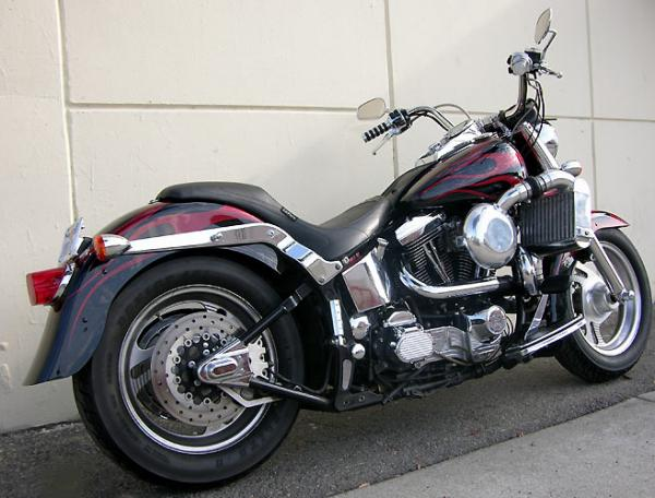 1989 Harley-Davidson FXST 1340 Softail (reduced effect)