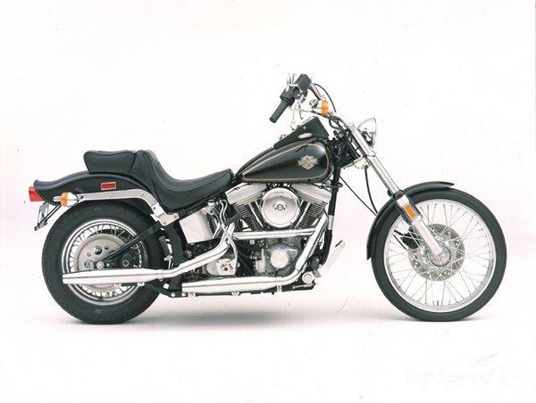 Harley-Davidson FXSTC 1340 Softail Custom (reduced effect)