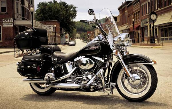 2001 Harley-Davidson Heritage Softail Classic Injection