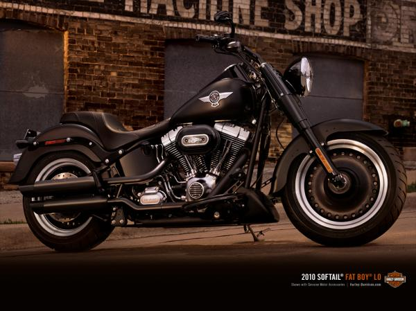 Harley-Davidson Softail Fat Boy Lo