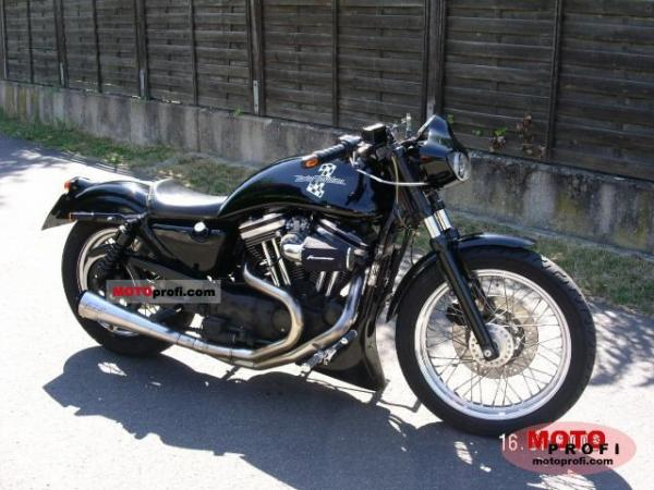 Harley-Davidson XLH Sportster 1200 (reduced effect) 1989 #1