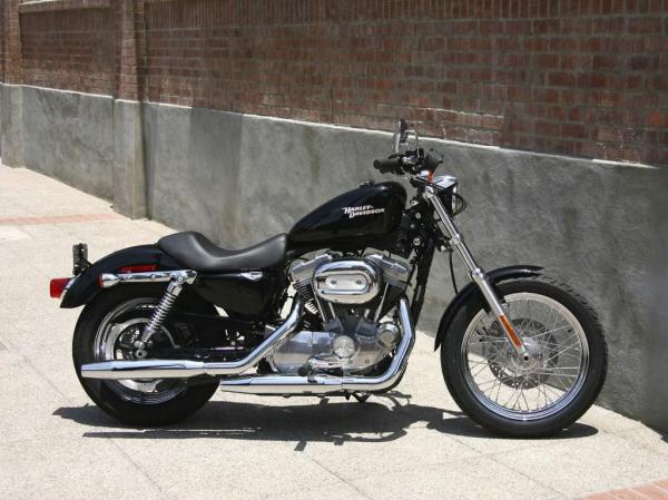 1991 Harley-Davidson XLH Sportster 1200 (reduced effect)