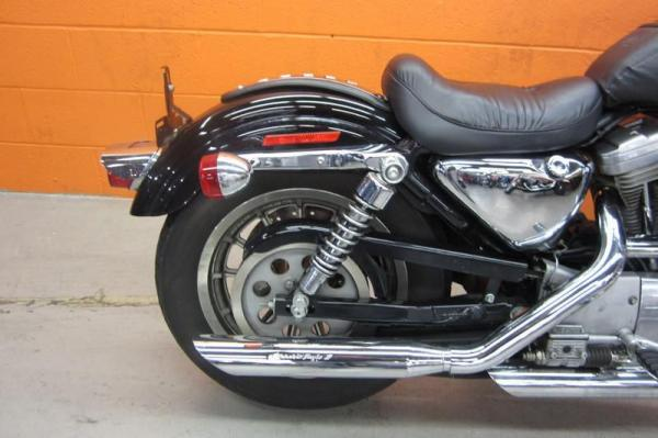 1990 Harley-Davidson XLH Sportster 883 De Luxe (reduced effect)
