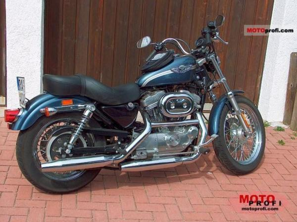 1987 Harley-Davidson XLH Sportster 883 Evolution (reduced effect)