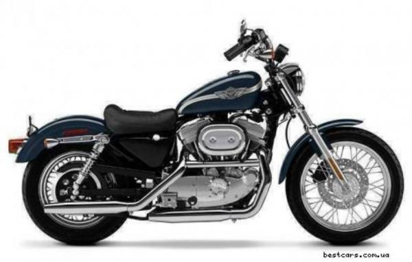 Harley-Davidson XLH Sportster 883 Hugger (reduced effect)