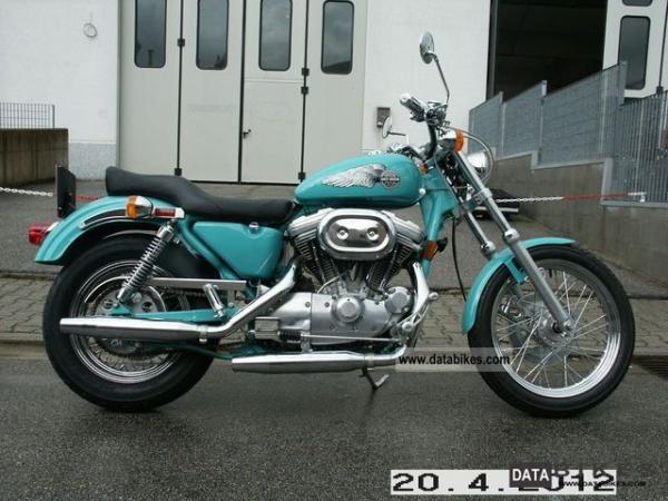 1989 Harley-Davidson XLH Sportster 883 Standard (reduced effect)