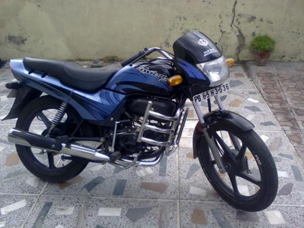 Hero Honda Passion Plus 2008 #1