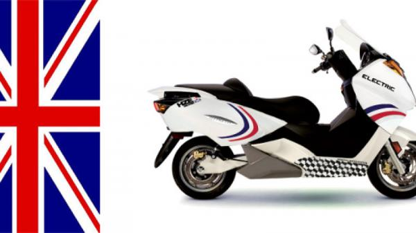 Hesketh HZE Vectrix Motorbike