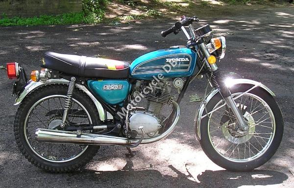 1981 Honda CB125T2 (reduced effect)
