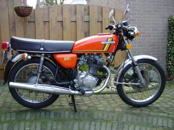 1982 Honda CB125T2 (reduced effect)
