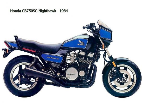 1984 Honda CB125T2 (reduced effect)