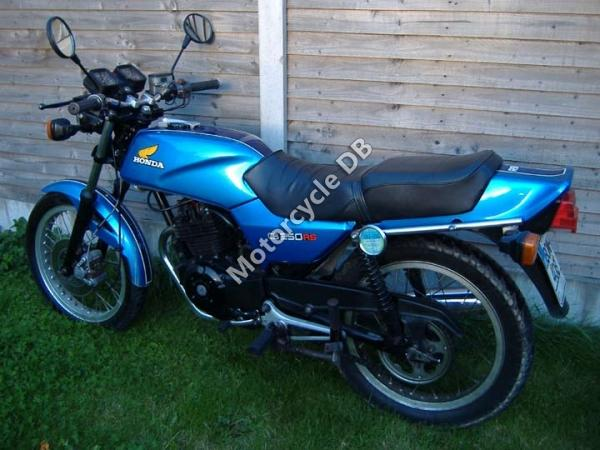 Honda CB250RS (reduced effect)