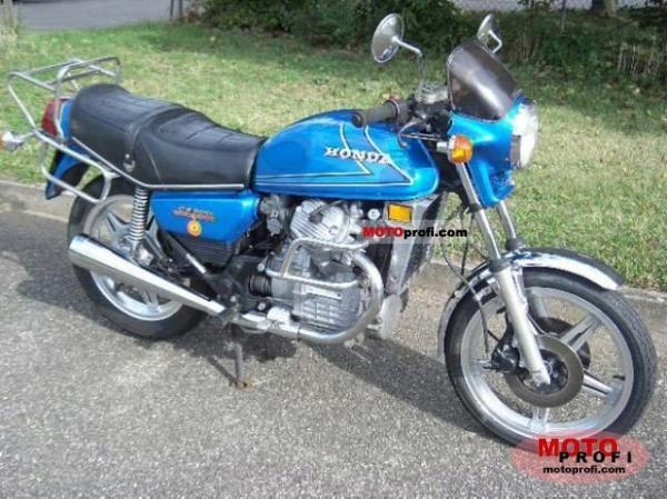 1980 Honda CB400N (reduced effect)