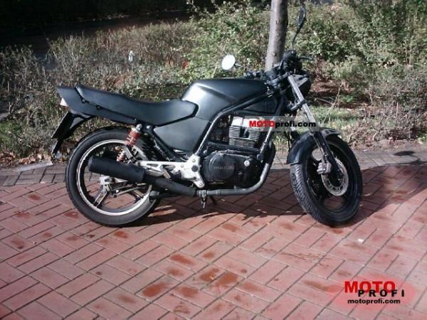 1988 Honda CB450S (reduced effect)