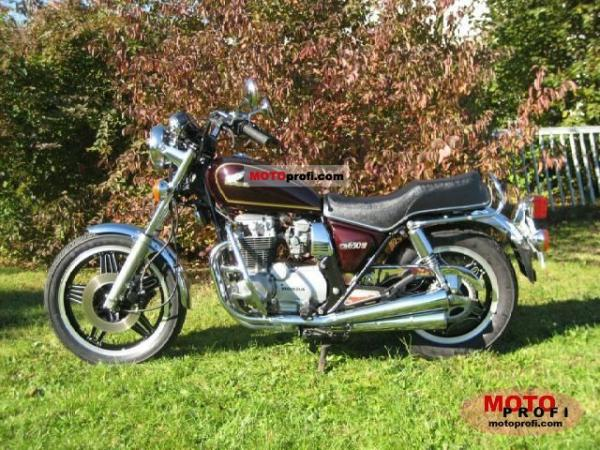 1982 Honda CB650 (reduced effect)