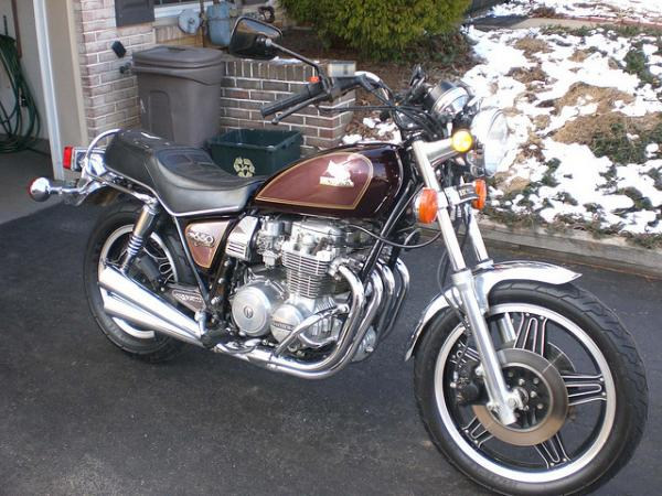 1981 Honda CB650C (reduced effect)
