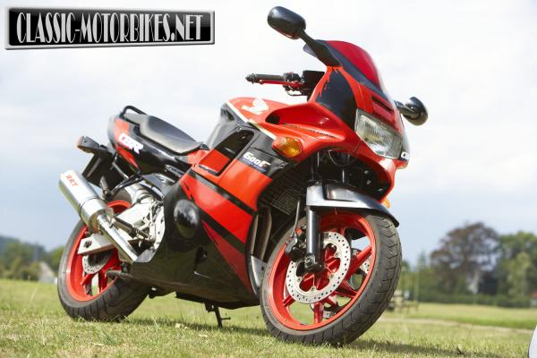 1989 Honda CBR600F (reduced effect)