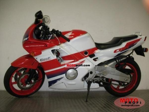 1991 Honda CBR600F (reduced effect)