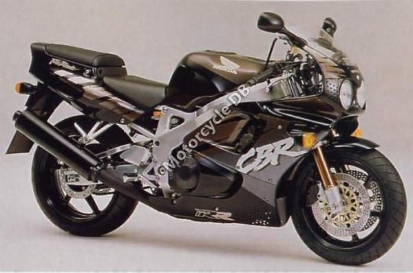 Honda CBR900RR (reduced effect)