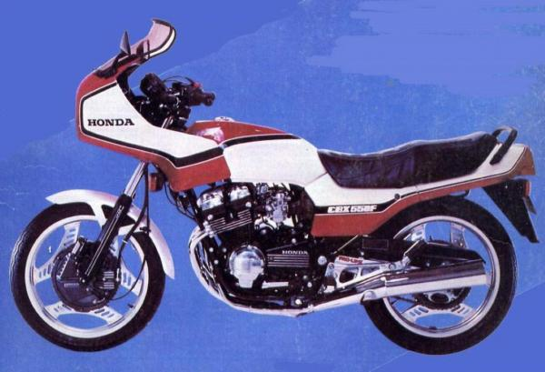 1983 Honda CBX550F (reduced effect)