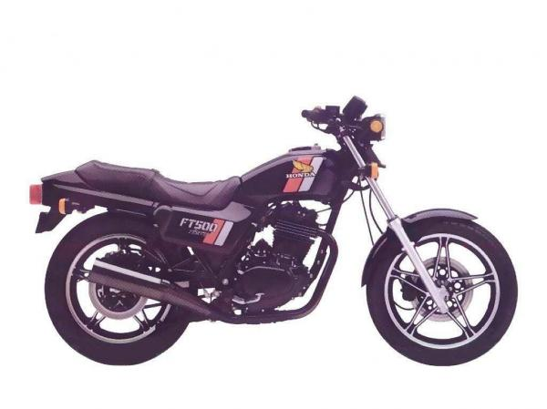 1984 Honda CBX550F2 (reduced effect)