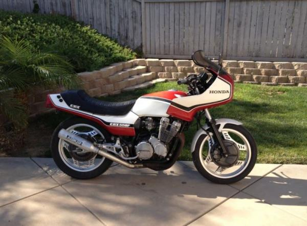 1985 Honda CBX550F2 (reduced effect)