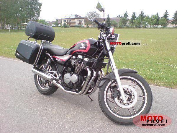 1987 Honda CBX650E (reduced effect)