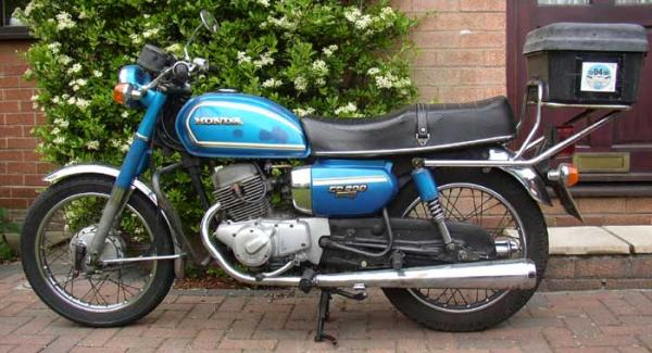 Honda CD200T Benly