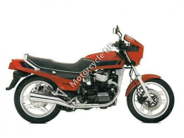 1984 Honda CM200T (reduced effect)