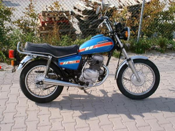1985 Honda CM200T (reduced effect)