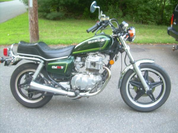 Honda CM400T (reduced effect)