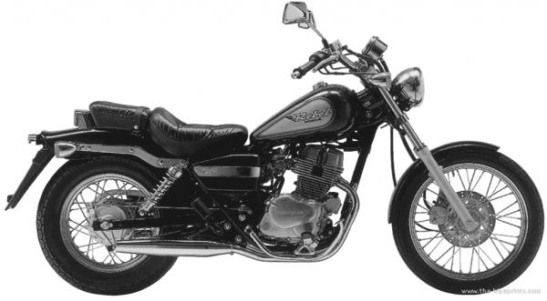 1998 Honda CMX250 Rebel