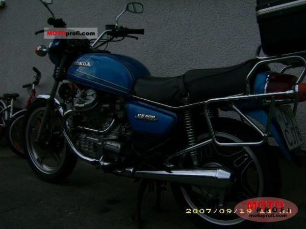 1981 Honda CX500 (reduced effect)