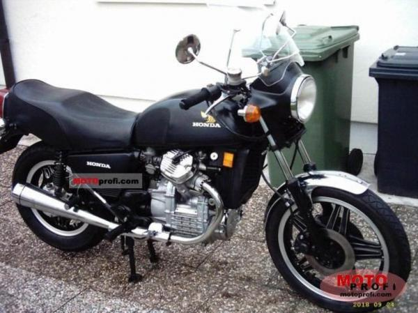 Honda CX500 SC (reduced effect)