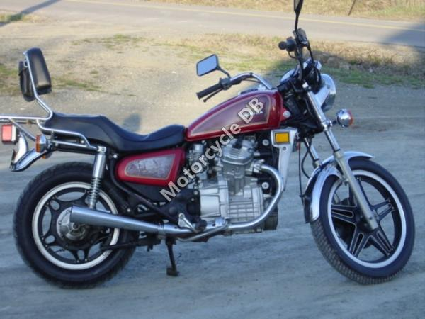 1983 Honda CX500C (reduced effect)