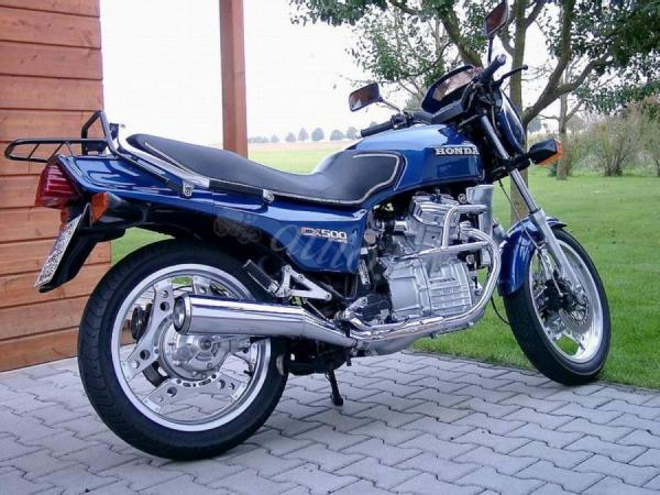 Honda CX500E (reduced effect) 1984 #1