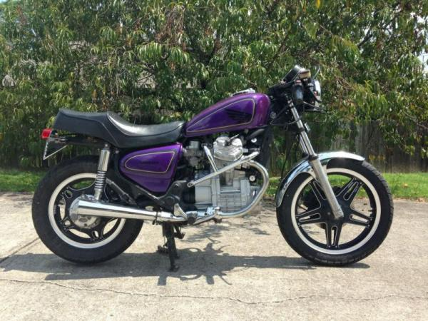 1984 Honda CX500E (reduced effect)