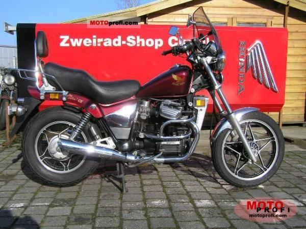Honda CX650C (reduced effect)